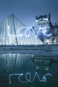 Louvre in Love