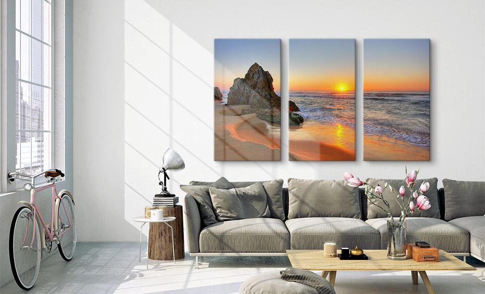 3 panel canvas prints room big