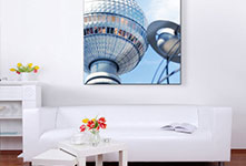 canvas print custom size in living room