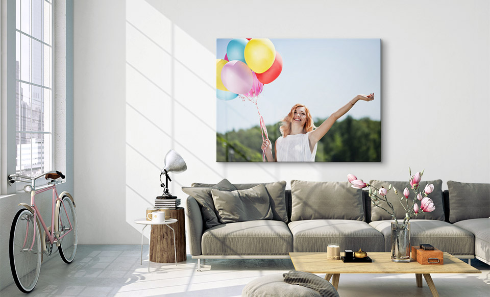 a0 canvas prints room