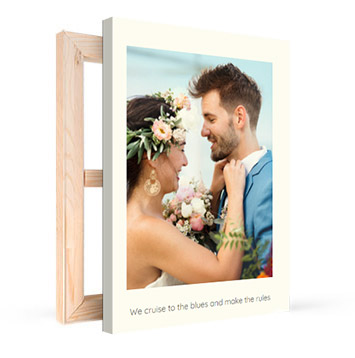 canvas print with text product