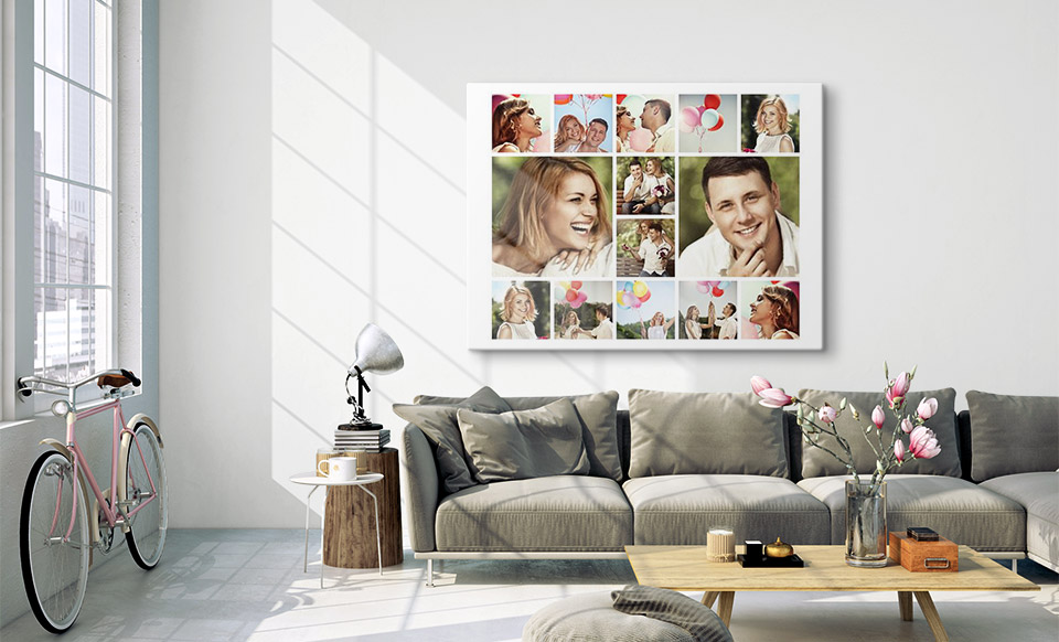 collage canvas apartment