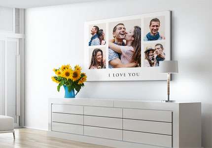 collage canvas love apartment