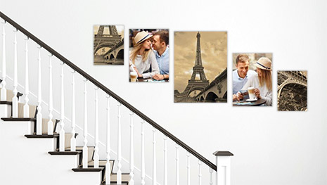 gallery wall stairs 5 2