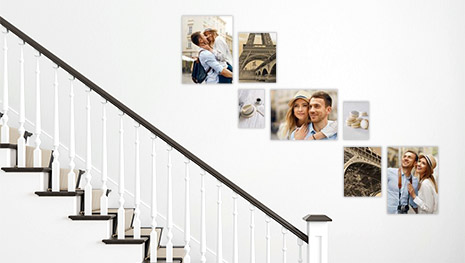 gallery wall stairs 7 2