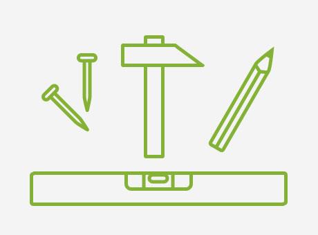 hang canvas icon tools