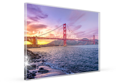 home office wall art acrylic glass view