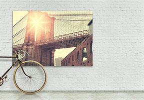large canvas print transfer