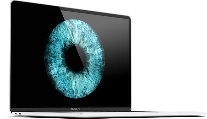 macbook iris picture