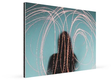 office artwork canvas alu view