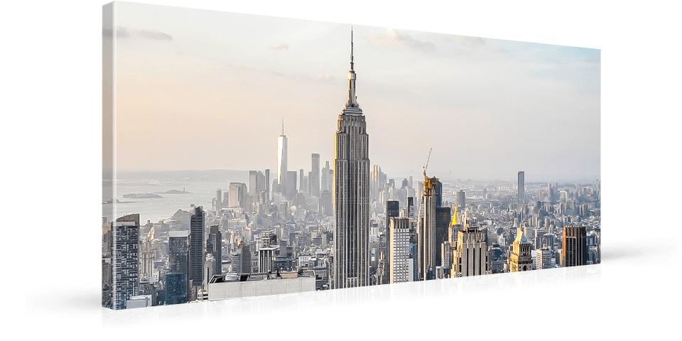 panoramic canvas print mirrored
