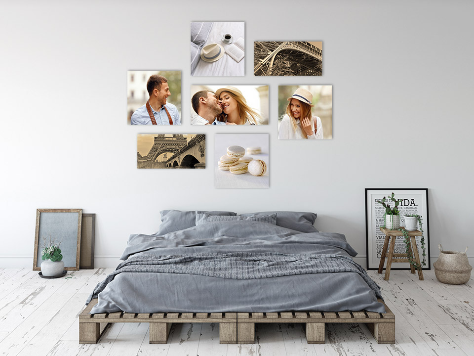 picture wall bedroom room