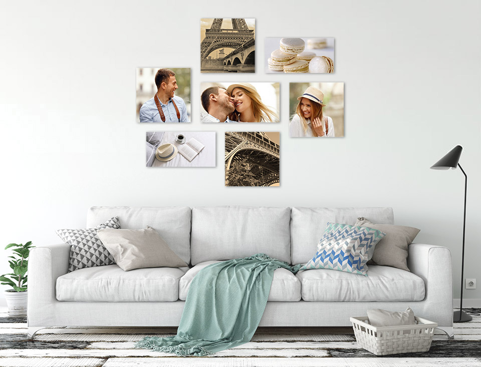 picture wall room