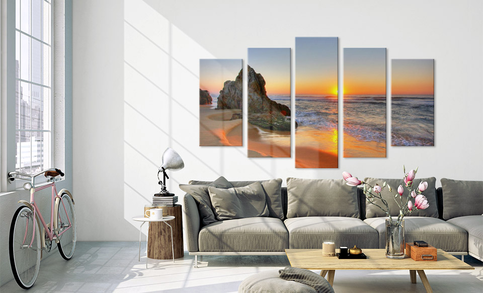 split canvas prints apartment